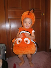 Halloween Family Costume 2013: Finding Nemo   Grace Ling Yu