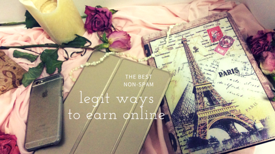 Legit ways to earn online