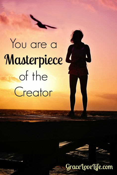 You are a Masterpiece of the Creator-pin
