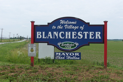 You Might be from Blanchester if…