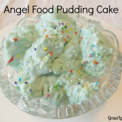 Angel Food Pudding Cake