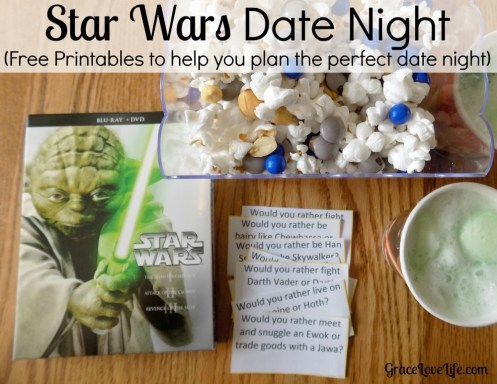Date Night Star Wars