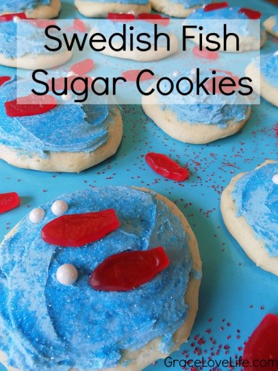 Swedish Fish Sugar Cookies