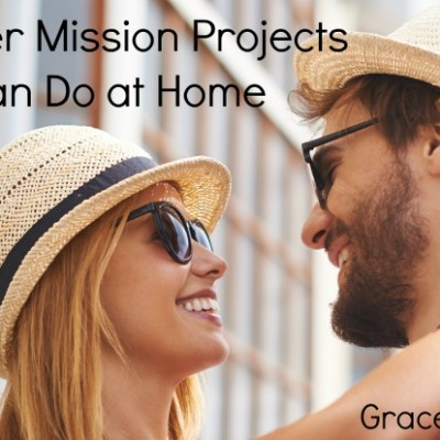 30 Mission Projects You Can Do [at Home] this Summer + A Giveaway!