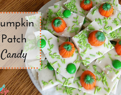 Pumpkin Candy Bark