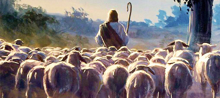 Follow Jesus, the Good Shepherd