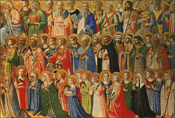 """All Saints Day,"" a painting by Fra Angelica (1395-1455)."