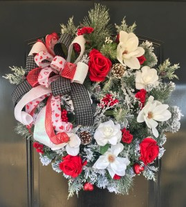 Valentine's Winter Wreath