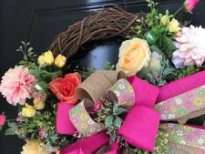 Artificial Wreath for Spring