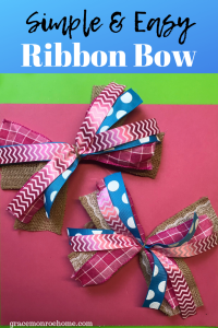 Easy Bow to Make