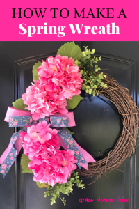 How to Make Spring Wreath Tutorial - So Easy!