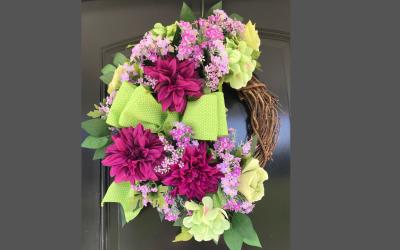 How to Make a Door Wreath