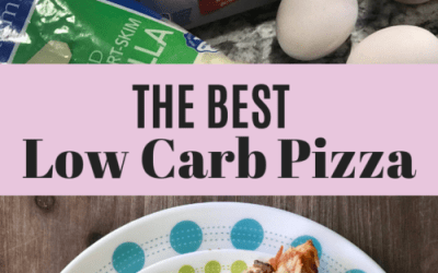 Low Carb Pizza Recipe with Fathead Crust
