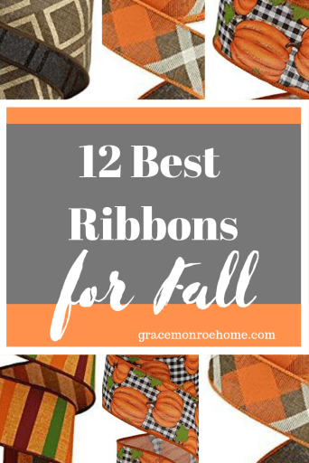 Best Fall Ribbon for Decorating