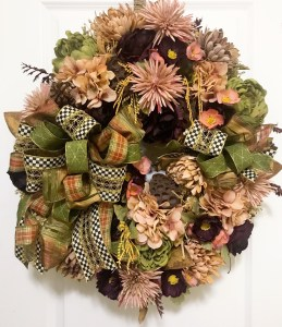 Elegant Fall Wreath by Grace Monroe Home