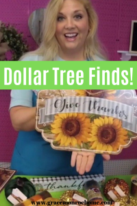 Fall Dollar Tree Goodies!