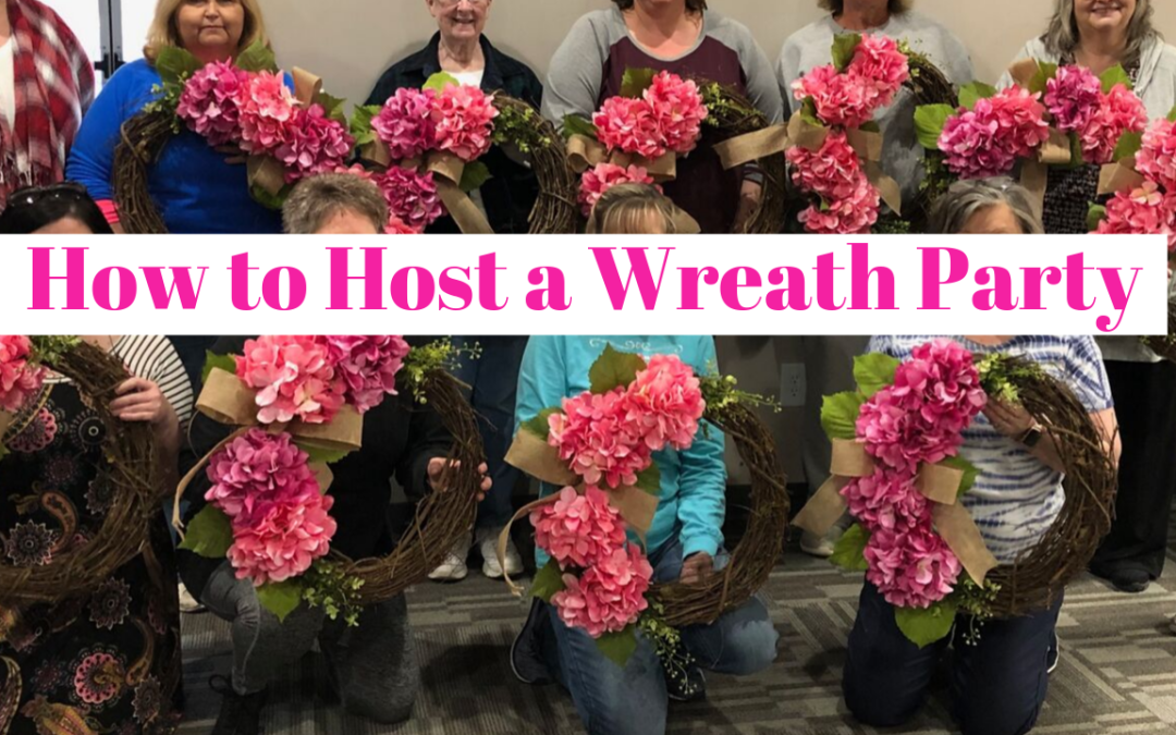 DIY Wreath Party: How to Host Your Own Wreath Party