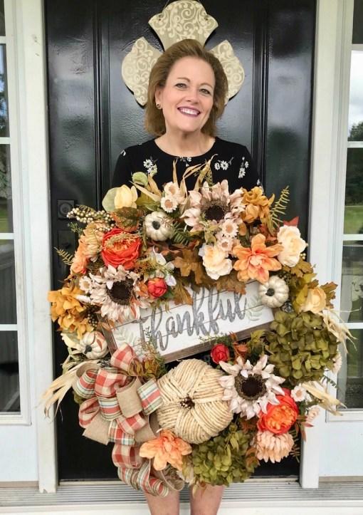Designer Fall Wreath