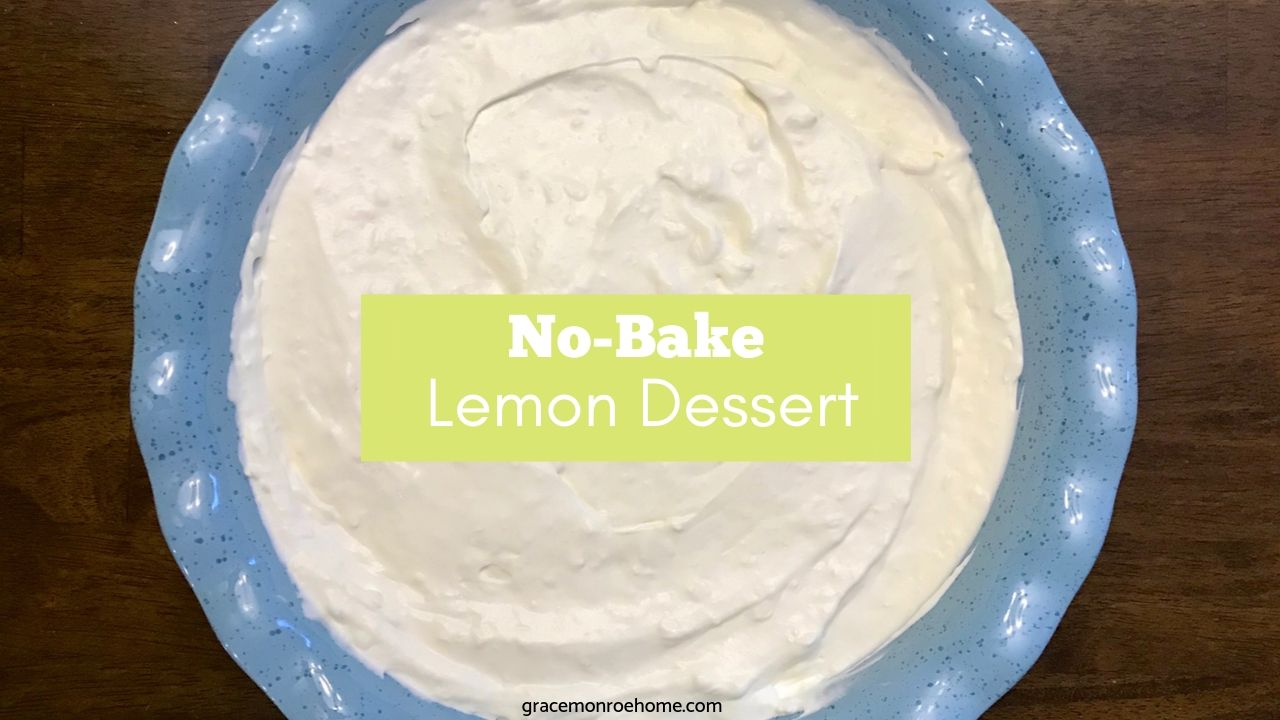 No Bake Lemon Dessert Recipe