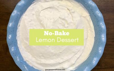 No-Bake Lemon Dessert