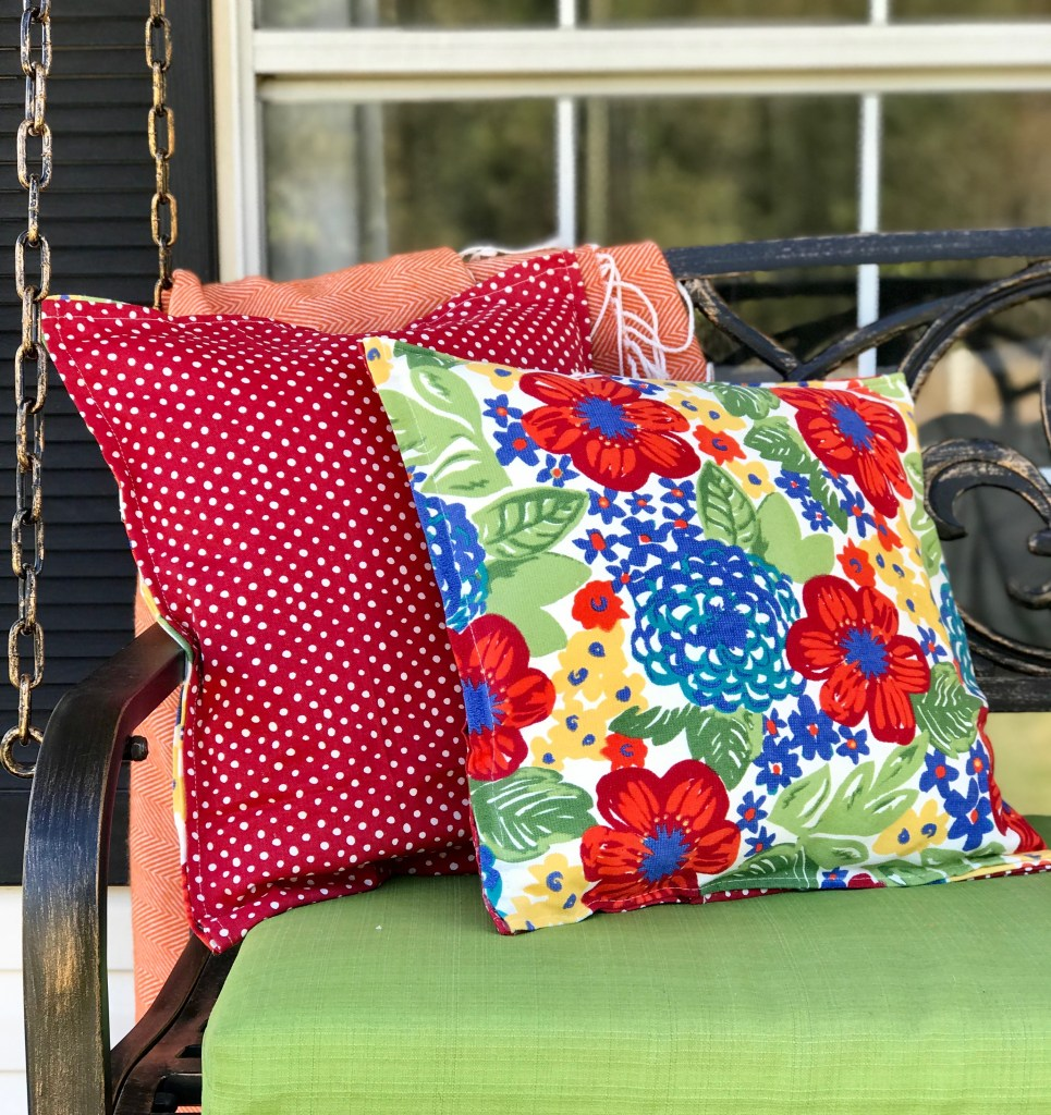 Super Easy DIY Throw Pillows (NO-SEW!)