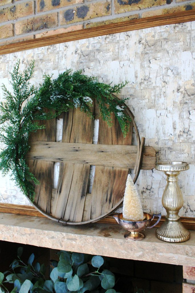 How to Make a Wreath Using a Bushel Basket Lid