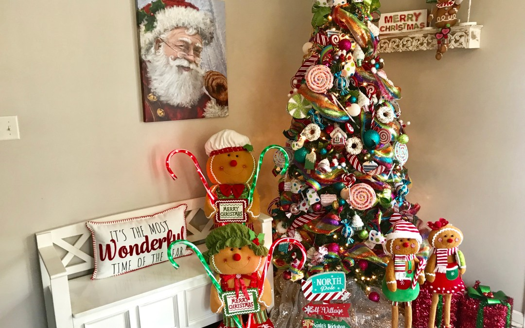 How To Create a Candy Christmas Tree