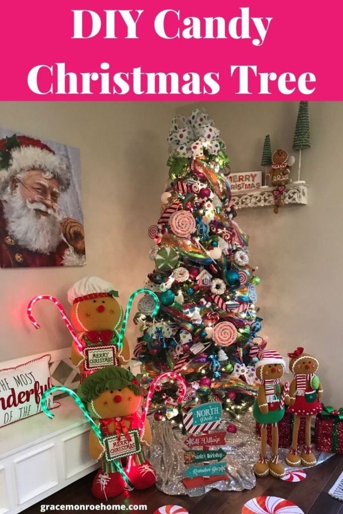 Create Your Own Candy Christmas Tree