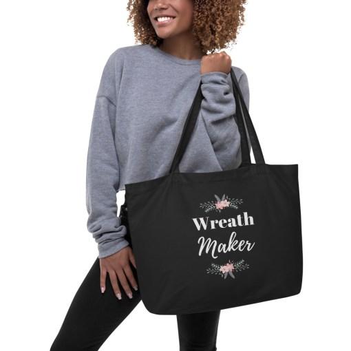 Black Wreath Maker Bag