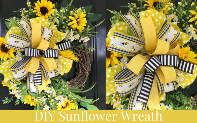 How to Make a Sunflower Wreath