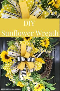 Learn to Make a Beautiful Sunflower Wreath