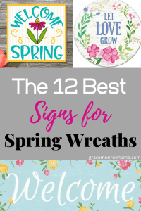 Top 12 Best Signs for Spring Wreaths