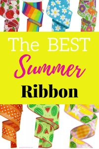 The Best Summer Ribbons