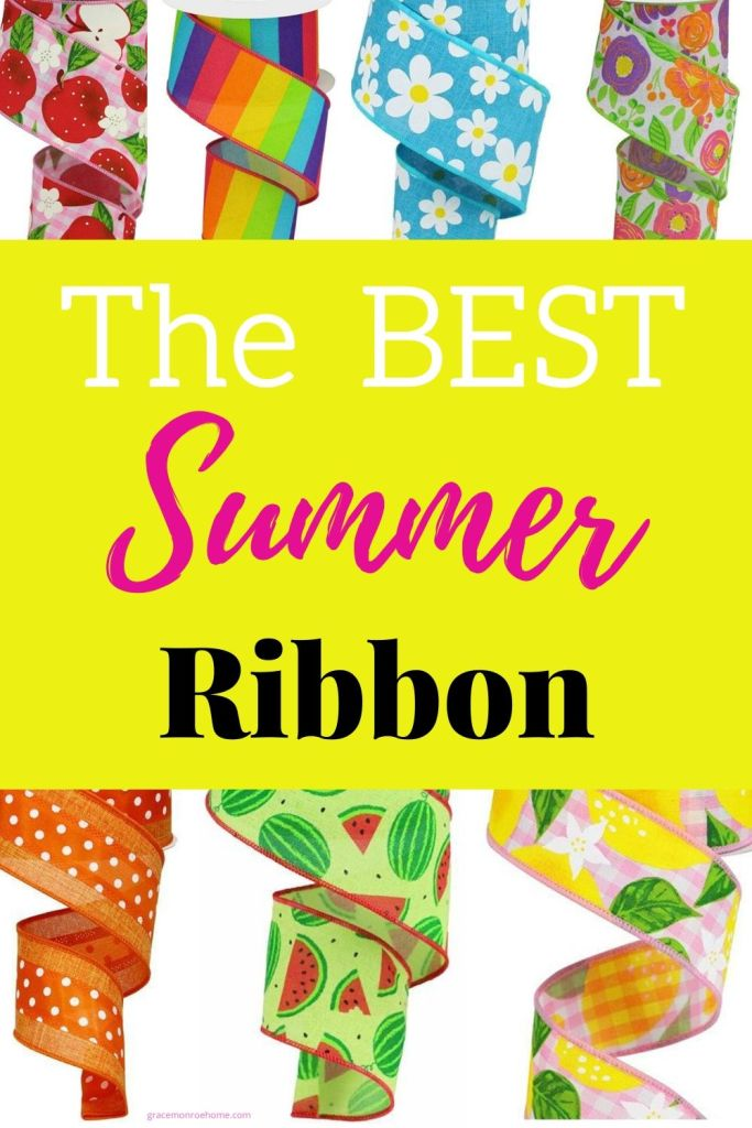 The Best Ribbons for Summer
