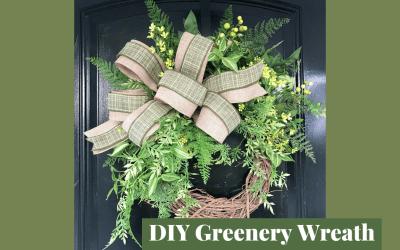 How to Make a Greenery Wreath