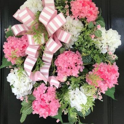 Beautiful Hydrangea Wreath