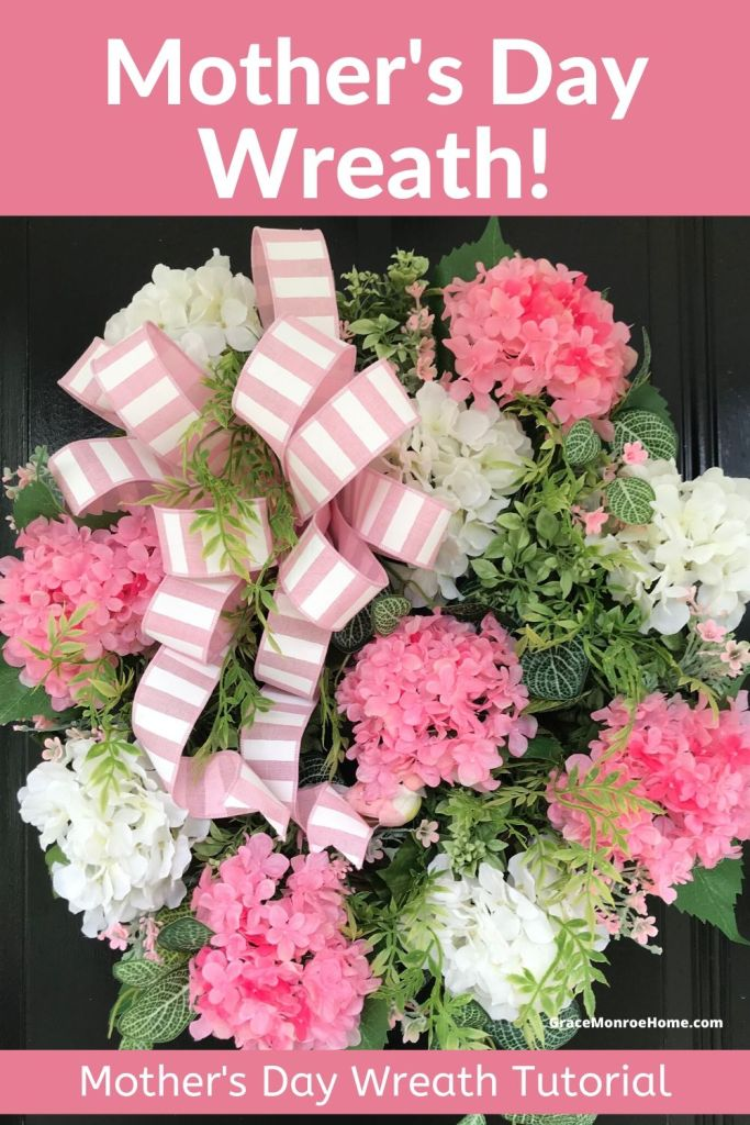 How to Make a Beautiful & Easy Mother's Day Wreath