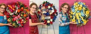 :earn to Create Designer Wreaths