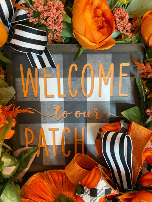 Farmhouse Wreath for Fall