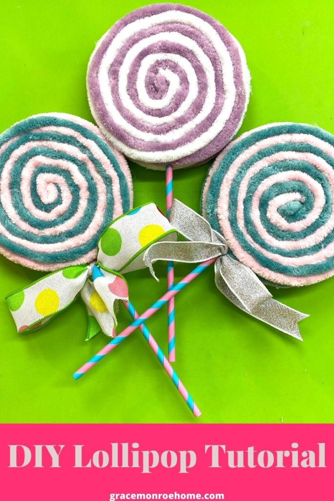 How to Make Yarn Lollipops