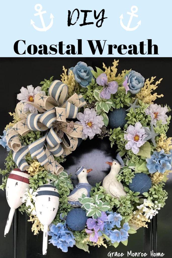 How to Make a DIY Coastal Wreath