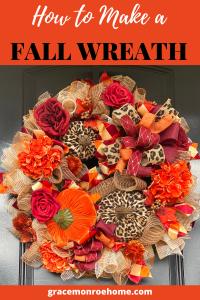 Learn to Make a Fall Wreath