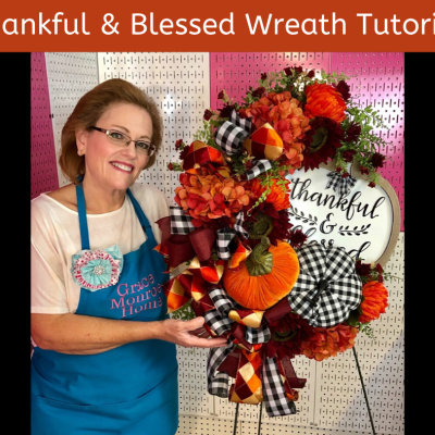 Designer Fall Wreath Tutorial