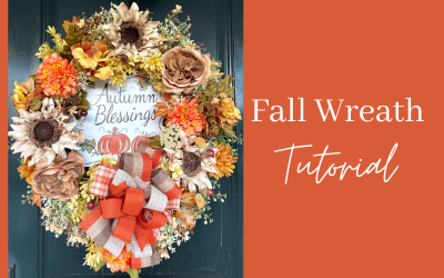 DIY Autumn Wreath Tutorial