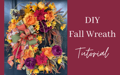 DIY Fall Door Wreath