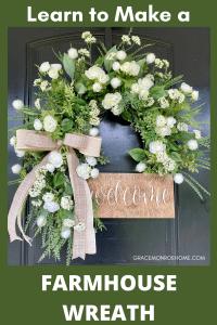 Learn to Make a Farmhouse Wreath