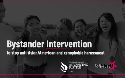 Bystander Intervention Training to Stop Anti-Asian/America and Xenophobic Harassment