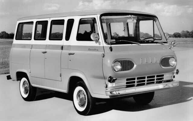 "Robin calls the Ford Econoline ""the whale."""