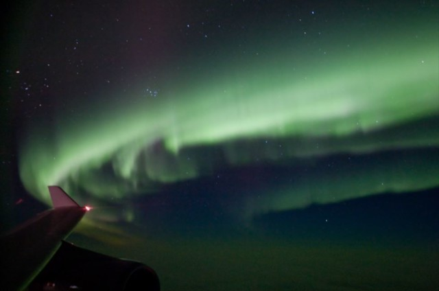 No. 6 - The Northern Lights with a Sleeping Baby