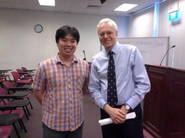 Dengan Prof. Markus Bockmuehl